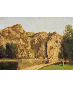 Gustave Courbet, The River Meuse, Freyr, c.1856 (oil on canvas)