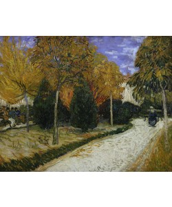 Vincent van Gogh, Path in the Park at Arles, 1888 (oil on canvas)