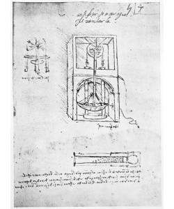 Leonardo da Vinci, Fol. 54r from Paris Manuscript B, 1488-90 (pen & ink on paper)