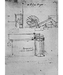 Leonardo da Vinci, Fol. 53 (verso), Manuscript B, 1488-89 (pen & ink on paper)