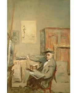 Edouard Vuillard, In Memory of a Visit to Forain