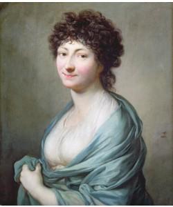 Anton Graff, The Daughter: Portrait of Caroline Susanne Graff (b.1781), 1801 (oil on canvas)