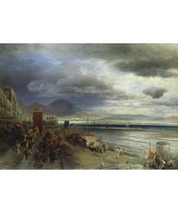 Andreas Achenbach, The Coast of Naples, 1877 (oil on canvas)