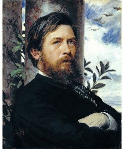 Arnold Bocklin, Self Portrait, 1873 (oil on canvas)
