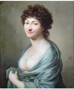 Anton Graff, The Daughter: Portrait of Caroline Susanne Graff (b.1781), 1801 (oil on canvas)