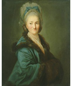 Anton Graff, Portrait of an Old Woman, 1780 (oil on canvas)