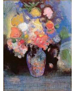 Odilon Redon, Flowers, 1900 (pastel on paper)