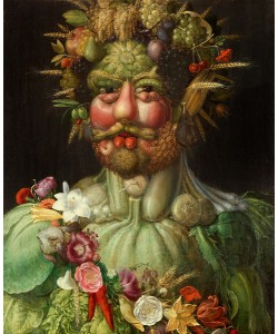 Giuseppe Arcimboldo, Vertumnus, 1591 (oil on panel)
