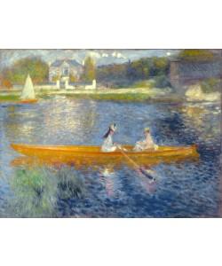 Pierre Auguste Renoir, The Skiff (La Yole), 1875 (oil on canvas)