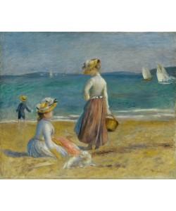 Pierre Auguste Renoir, Figures on the Beach, 1890 (oil on canvas)