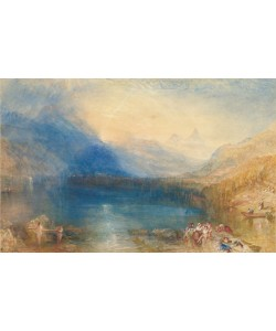 Joseph Mallord William Turner, The Lake of Zug, 1843 (w/c over graphite)