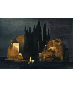 Arnold Bocklin, The Isle of the Dead, 1880 (oil on canvas)