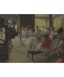 Edgar Degas, The Dance Class, c.1873 (oil on canvas)