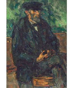 Paul Cézanne, The Gardener Vallier, 1906 (oil on canvas)