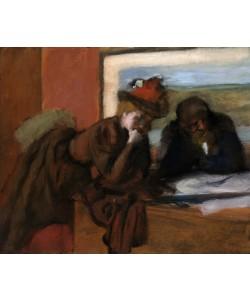 Edgar Degas, The Conversation, 1885-95 (oil on canvas)