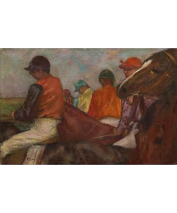 Edgar Degas, The Jockeys, c.1882 (oil on canvas)