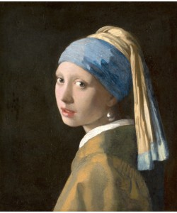 Jan Vermeer, Girl with a Pearl Earring, c.1665-6 (oil on canvas)