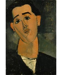 Amedeo Modigliani, Portrait of Juan Gris (1887-1927) 1915 (oil on canvas)