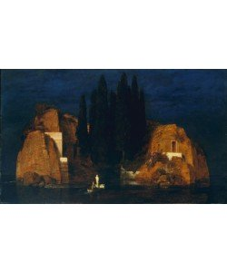 Arnold Bocklin, Isle of the Dead, second version, 1880 (oil on wood)