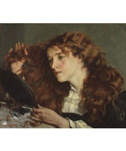 Gustave Courbet, Jo, the Beautiful Irish Girl, 1866 (oil on canvas)