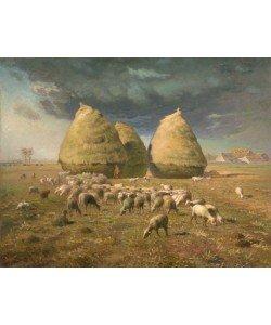 Jean-Francois Millet, Haystacks: Autumn, c.1874 (oil on canvas)