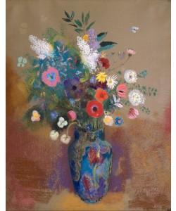 Odilon Redon, Bouquet of Flowers, c.1905 (pastel on paper)