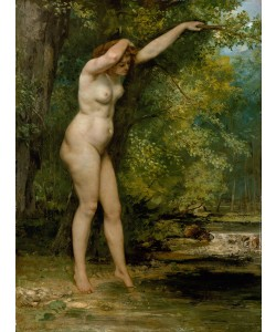 Gustave Courbet, The Young Bather, 1866 (oil on canvas)