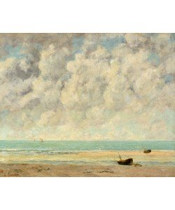 Gustave Courbet, The Calm Sea, 1869 (oil on canvas)
