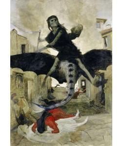 Arnold Bocklin, The Plague, 1898 (tempera on panel)