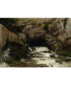 Gustave Courbet, The Source of the Loue, 1864 (oil on canvas)