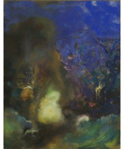Odilon Redon, Roger and Angelica, c.1910 (pastel on paper)