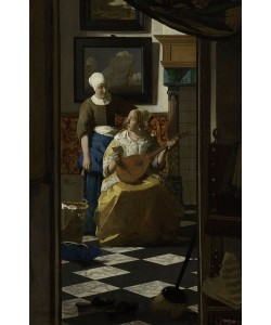 Jan Vermeer, The Love Letter, c.1669-70 (oil on canvas)