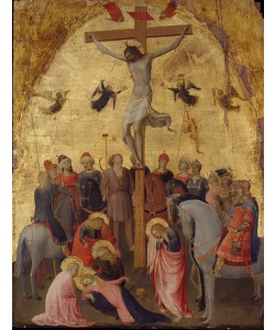 Fra Angelico, The Crucifixion, c.1420-23 (tempera on wood)