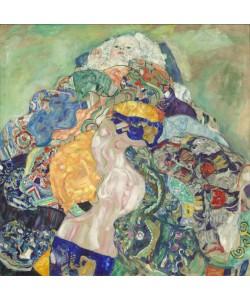 Gustav Klimt, Baby (Cradle), 1917-18 (oil on canvas)