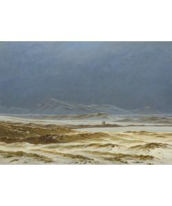 Caspar David Friedrich, Northern Landscape, Spring, c.1825 (oil on canvas)