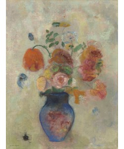 Odilon Redon, Large Vase with Flowers, c.1912 (oil on canvas)