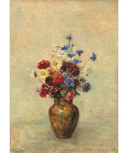 Odilon Redon, Flowers in a Vase, c.1910 (oil on canvas)