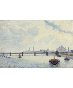 Camille Pissarro, Charing Cross Bridge, London, 1890 (oil on canvas)