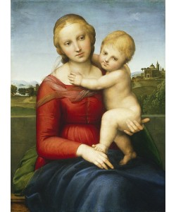 Raphael, The Small Cowper Madonna, c.1505 (oil on panel)