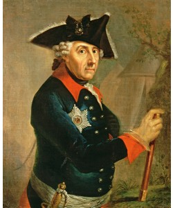 Anton Graff, Frederick II the Great of Prussia, 1764 (oil on canvas)