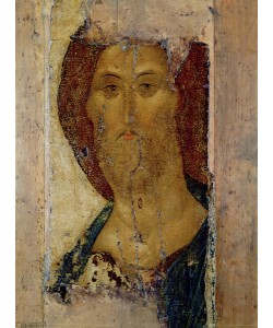 Andrei Rublev, Redeemer, 1420 (tempera on panel)