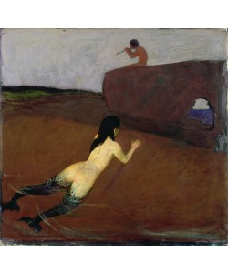 Franz von Stuck, Belanschung (oil on canvas)