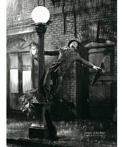 Liby, Gene Kelly singing in the Rain