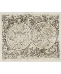 Adam Elsheimer, Karte der Erdhemisphren