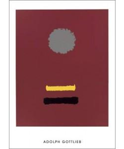 Adolph Gottlieb, Untitled, 1969 (Büttenpapier)