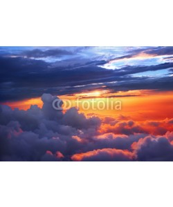 adisa, Sunset above the clouds