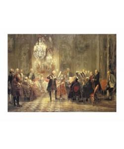 Adolph von Menzel, The Flutist