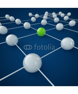 ag visuell, Network und Business - 3D Grafik / 3d Illustration