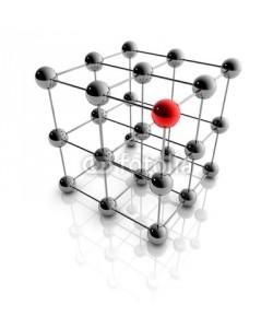 ag visuell, Netzwerk und Business - 3D Grafik / 3d Illustration