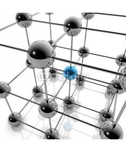 ag visuell, Social Media und Netzwerk - 3D Grafik / 3d Illustration